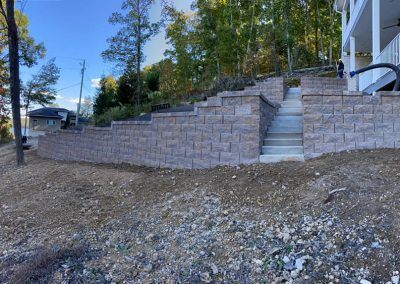 retaining wall in knoxville tn