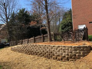 knoxville retaining wall