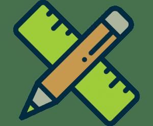 hardscape design icon