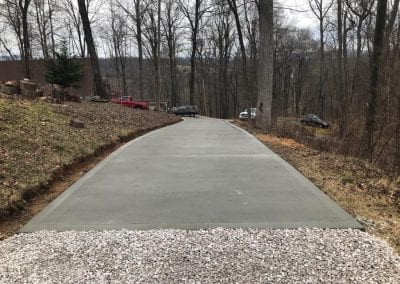 concrete driveway in knoxville tn
