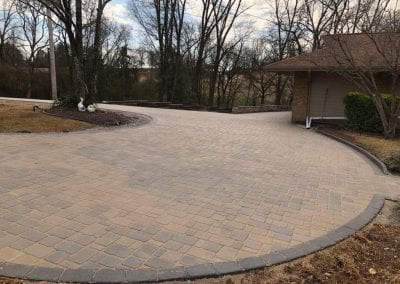 brick driveway in knoxville tn