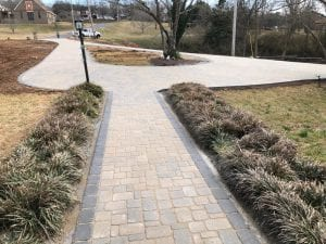 brick walkway and driveway in knoxville tn