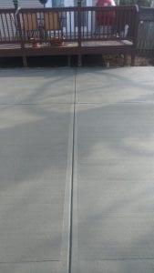 concrete patio in knoxville